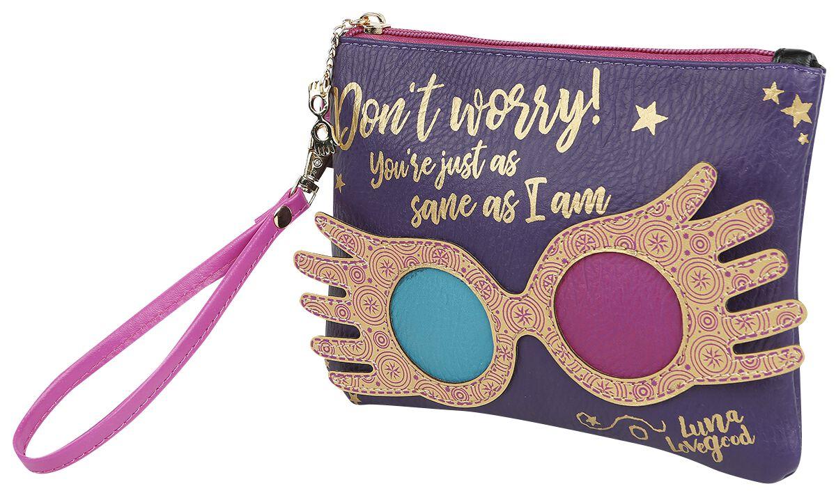 Handtaschen - Harry Potter Luna Lovegood Clutch lila  - Onlineshop EMP