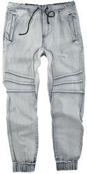Blaue bequeme Jeans im lässigen Schnitt