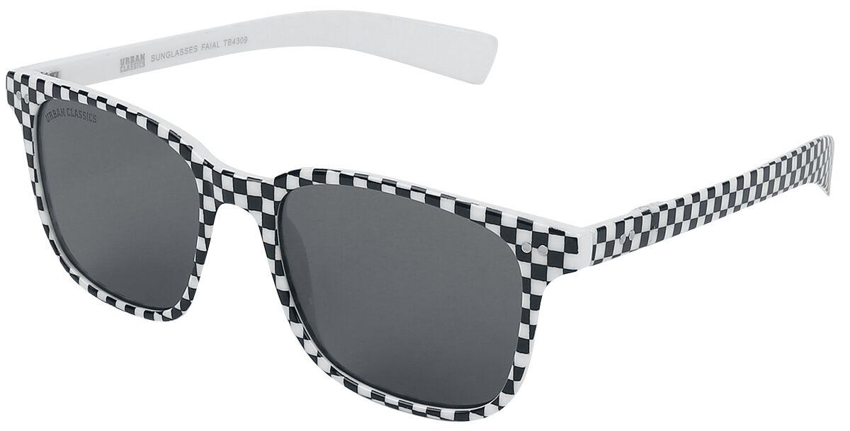 Urban Classics - Faial - Sonnenbrille - weiß|schwarz