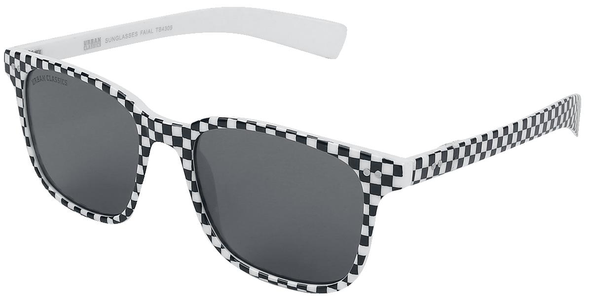 Urban Classics - Faial - Sonnenbrille - weiß| schwarz