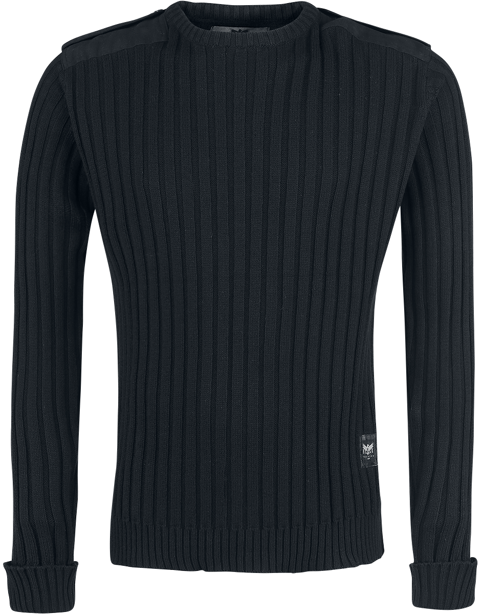 Black Premium by EMP - You And Whose Army? - Knit sweater - black image