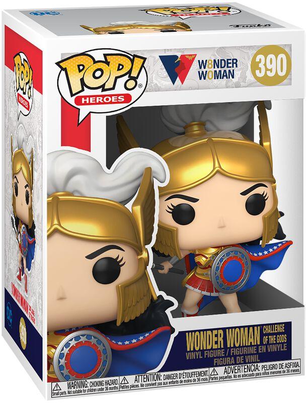 80th Anniversary - Wonder Woman Challenge Of The Gods Vinyl Figur 390