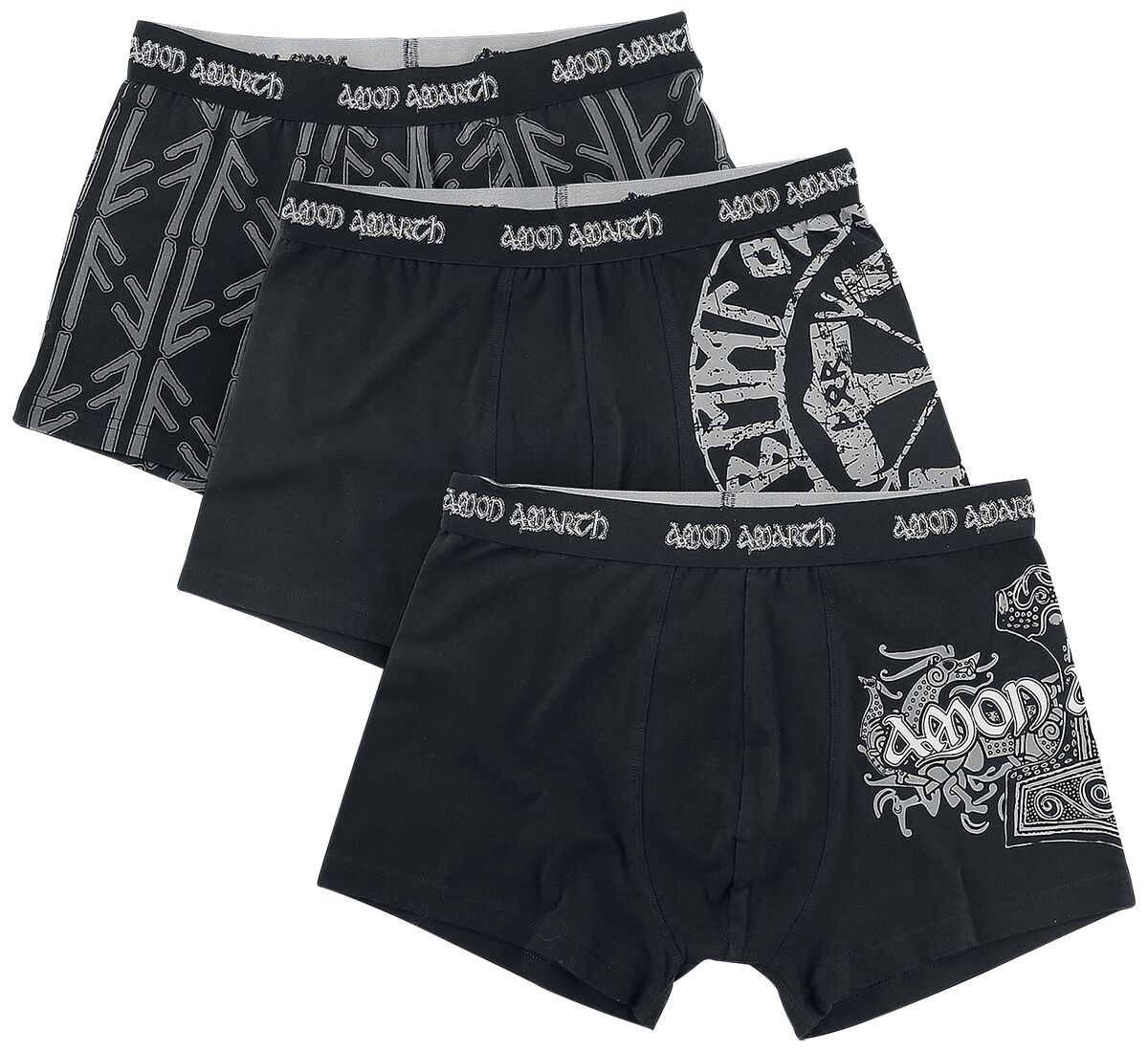Image of Amon Amarth EMP Signature Collection Boxershort schwarz