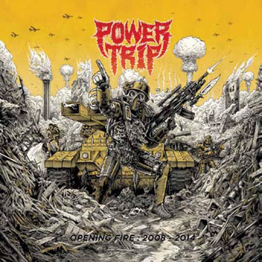 Power Trip Opening fire: 2008-2014  CD  Standard