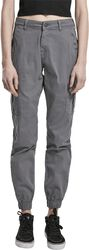 Ladies High Waist Cargo Pants
