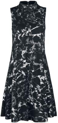 Silver Haze High Neck Dress