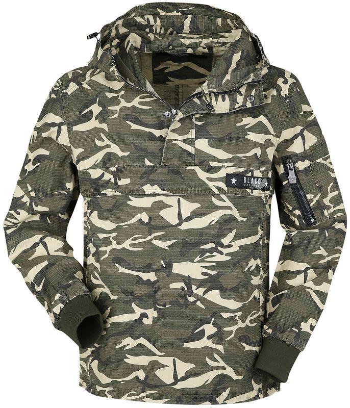Übergangsjacke in camouflage zum Reinschlüpfen