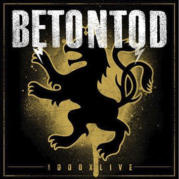 Image of Betontod 1000 x Live Blu-ray & 2-CD Standard