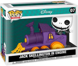 Jack Skellington in Engine (Pop! Train) Vinyl Figur 07