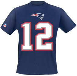 New England Patriots Brady #12
