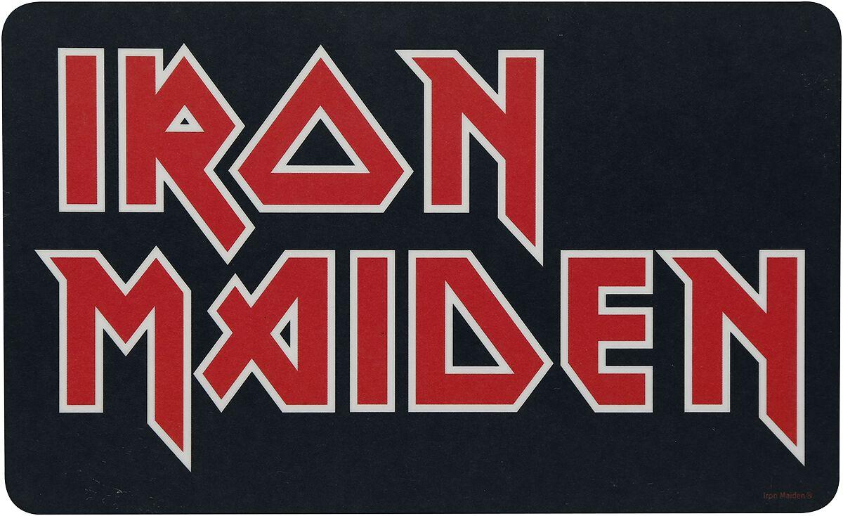 Image of Iron Maiden Iron Maiden Logo Frühstücksbrettchen Standard