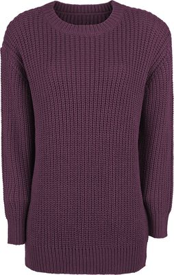 Ladies Basic Crew Sweater
