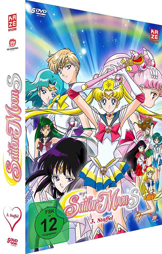 Image of Sailor Moon S - Staffel 3 - Gesamtausgabe 5-DVD Standard