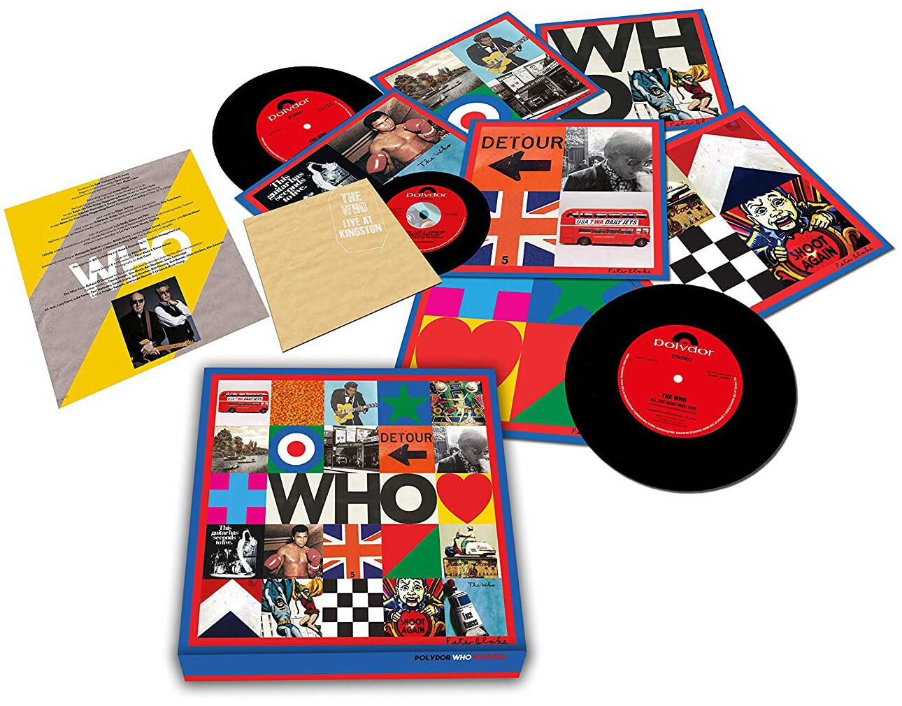 Image of The Who Who 6 x 7 inch & CD Standard