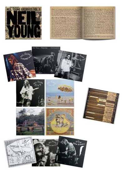 Image of Neil Young Neil Young archives Vol.2 (1972-1982) 10-CD Standard