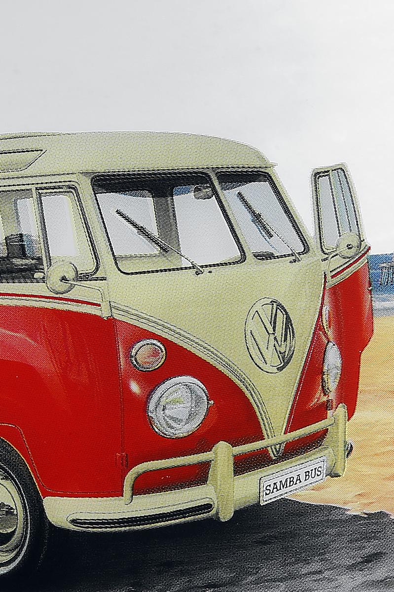 Image of VW Bulli Spiegel Mehrfarbig