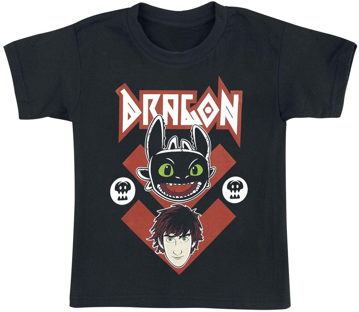 Drachenzähmen leicht gemacht Toothless T-Shirt schwarz #03006