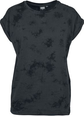 Ladies Batic Extended Shoulder Tee