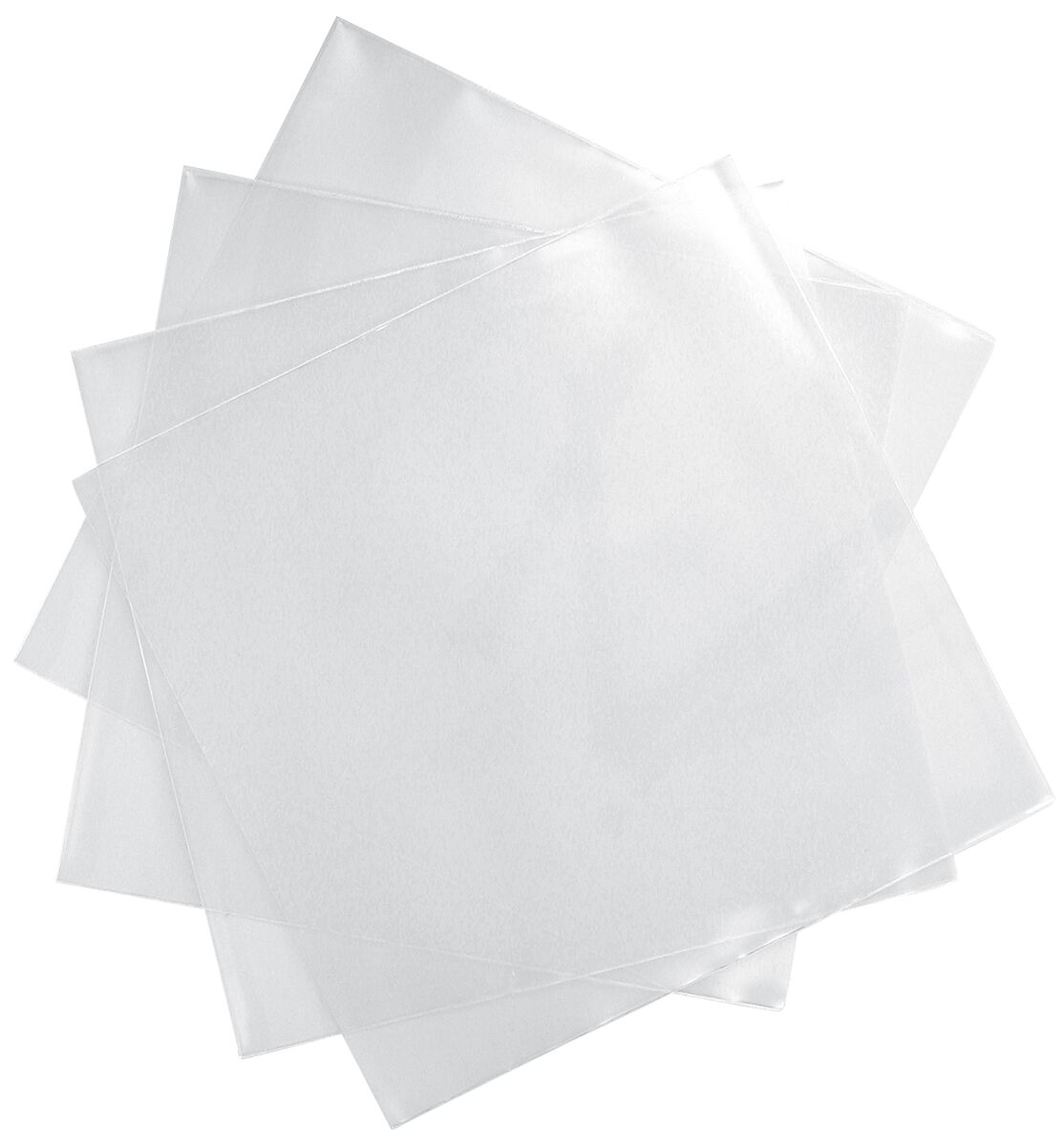 Vinyl-Schutzhüllen (100 Stück) für Singles  Schutzhülle  Standard