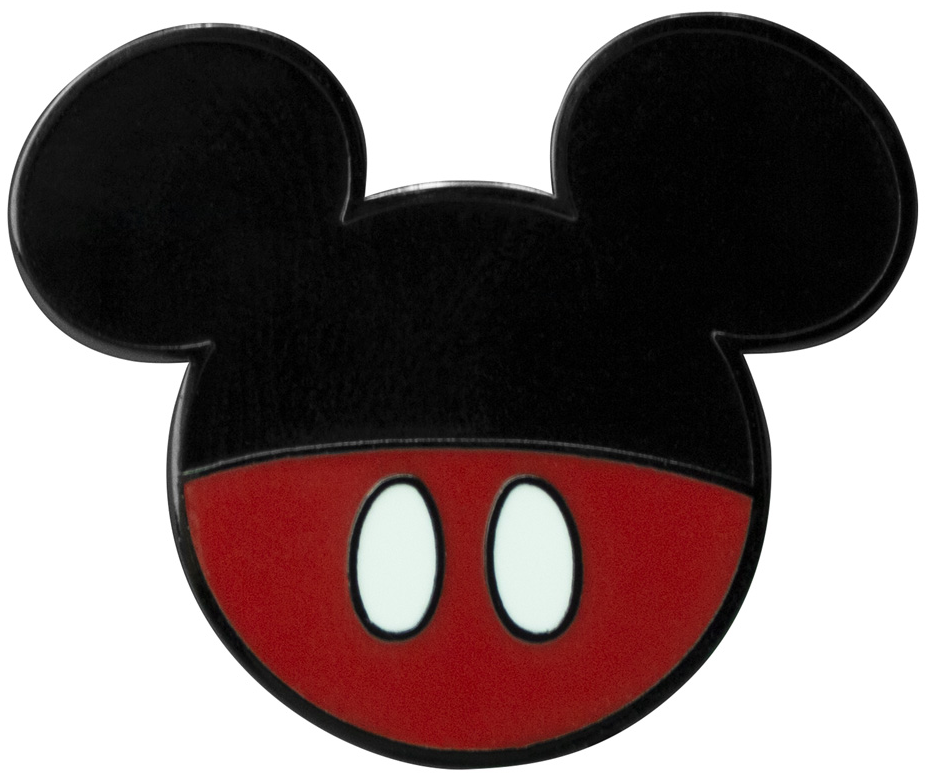 Micky Maus - Micky - Pin - schwarz  rot  weiß