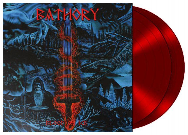 Image of Bathory Blood on ice 2-LP rot