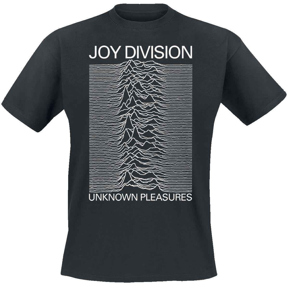 Joy Division - Unknown Pleasures - T-Shirt - black image