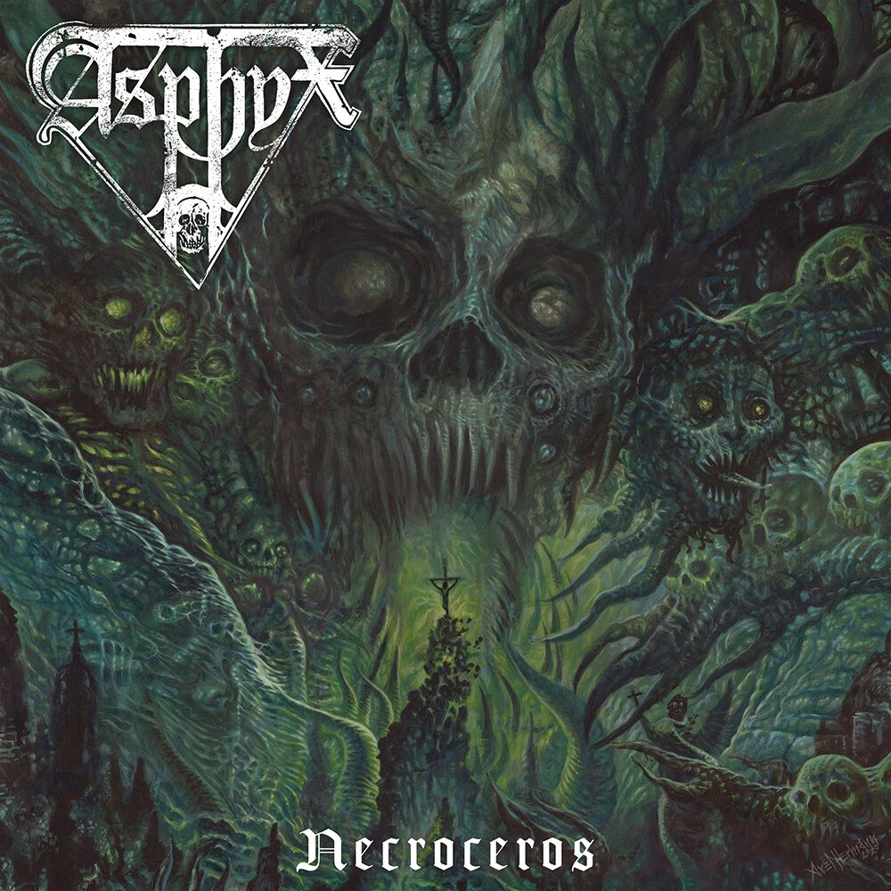 Image of Asphyx Necroceros CD & DVD Standard