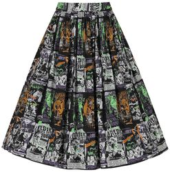 Be Afraid 50's Skirt