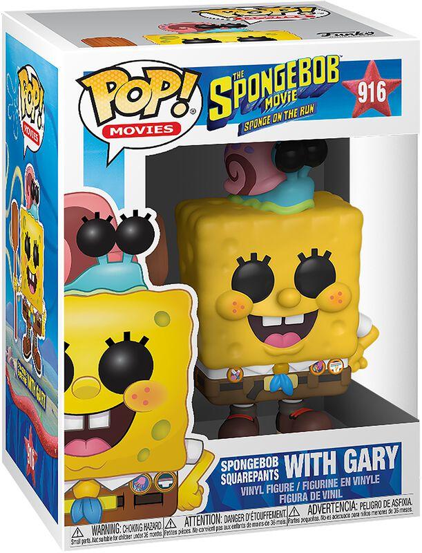 3 - Spongebob with Gary Vinyl Figur 916