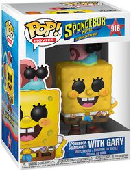 3 - Spongebob with Gary Vinyl Figur 916