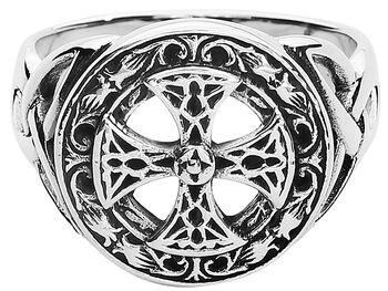 Silver Celtic Cross