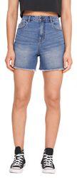 Katy Slim Mom Shorts