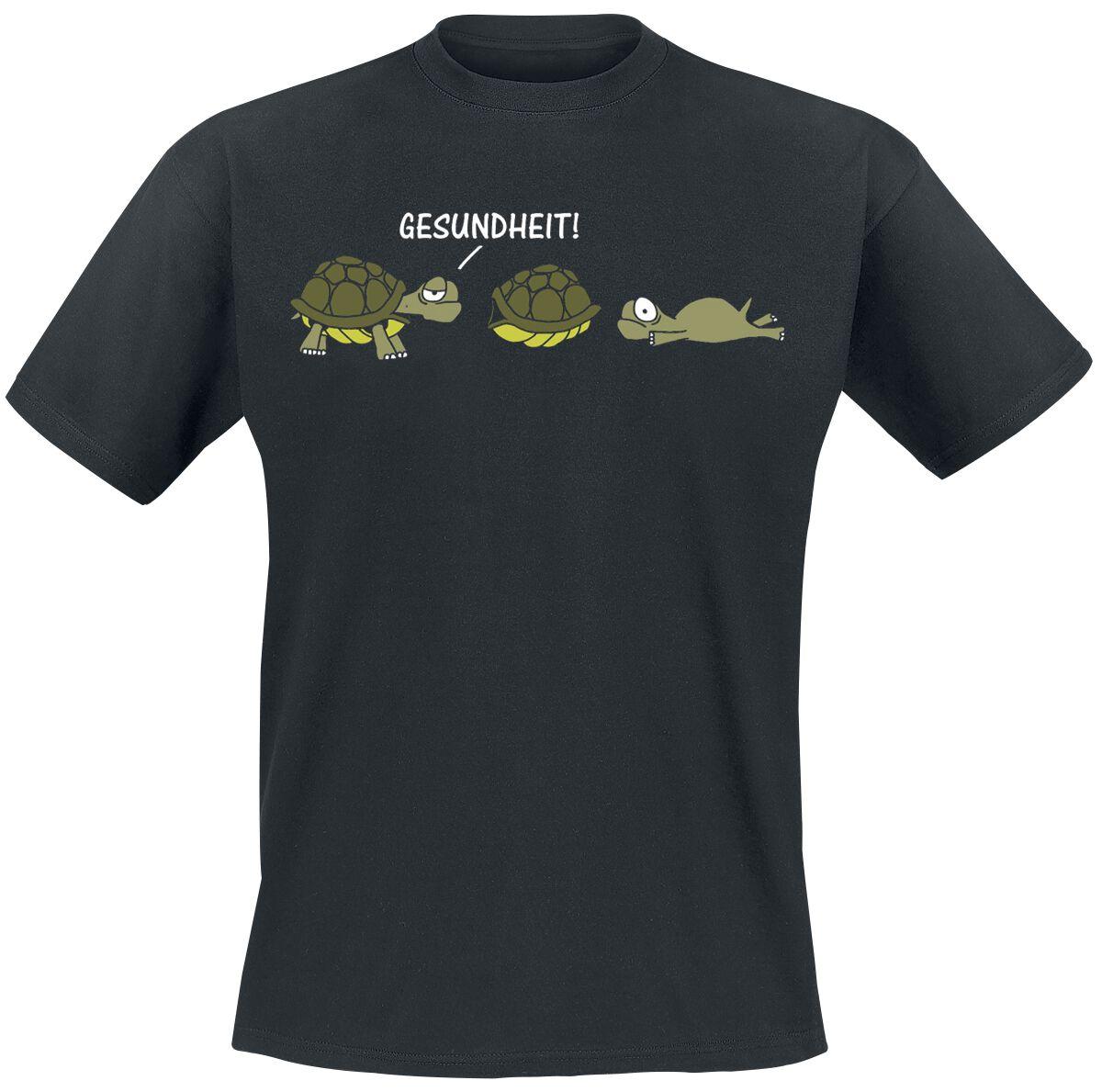 Gesundheit! T-Shirt schwarz 1840