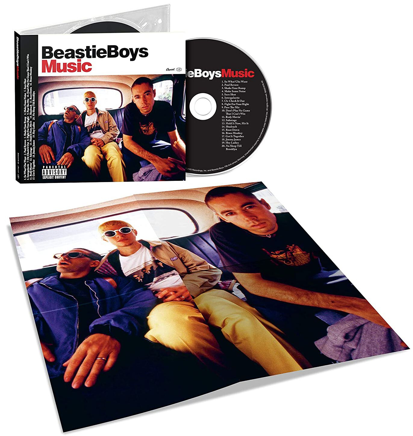 Image of Beastie Boys Beastie Boys Music CD Standard