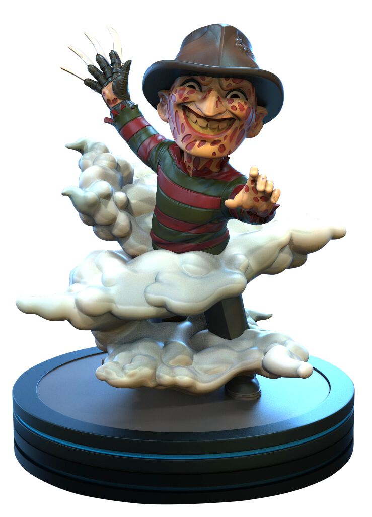 Image of A Nightmare on Elm Street Q-Figur (Diorama) Freddy Krueger Sammelfigur Standard