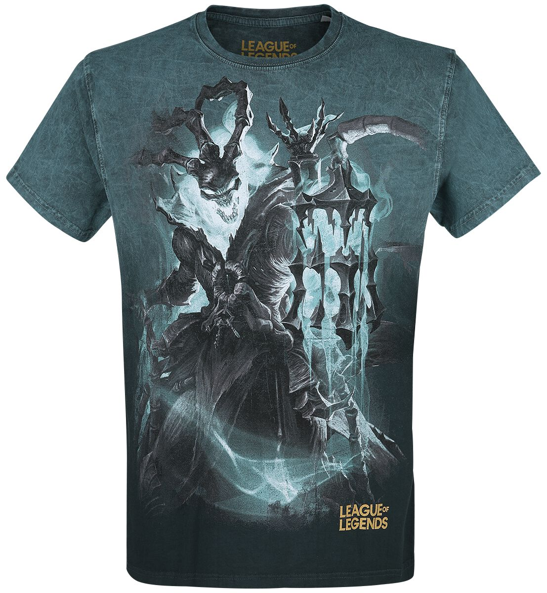 League Of Legends Thresh T-Shirt blau 10188-LoL