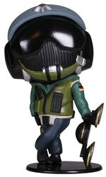 Siege - Six Collection - Jäger Chibi Figur