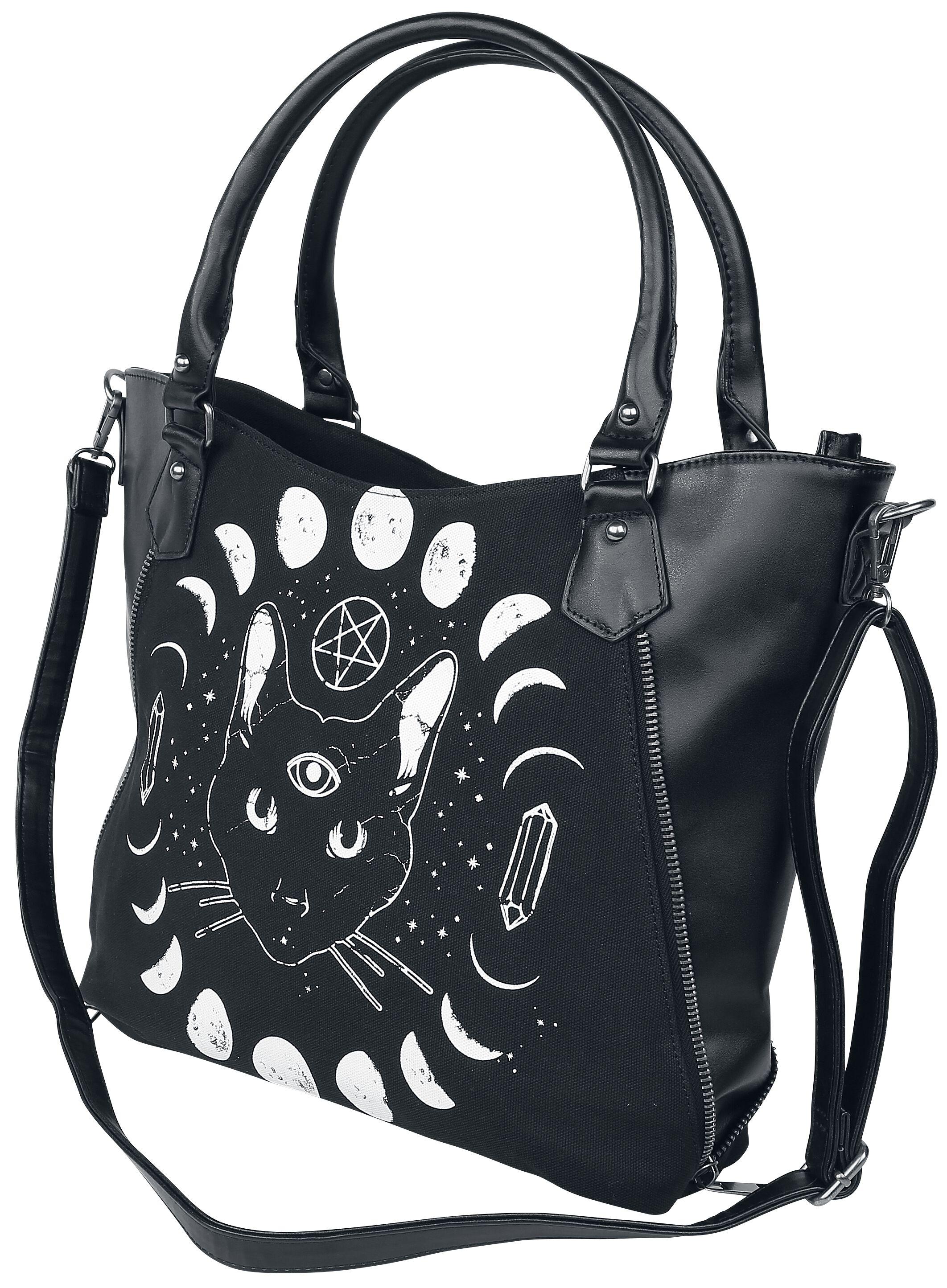 Handtaschen - Banned Alternative Pentacle Coven Handtasche schwarz  - Onlineshop EMP