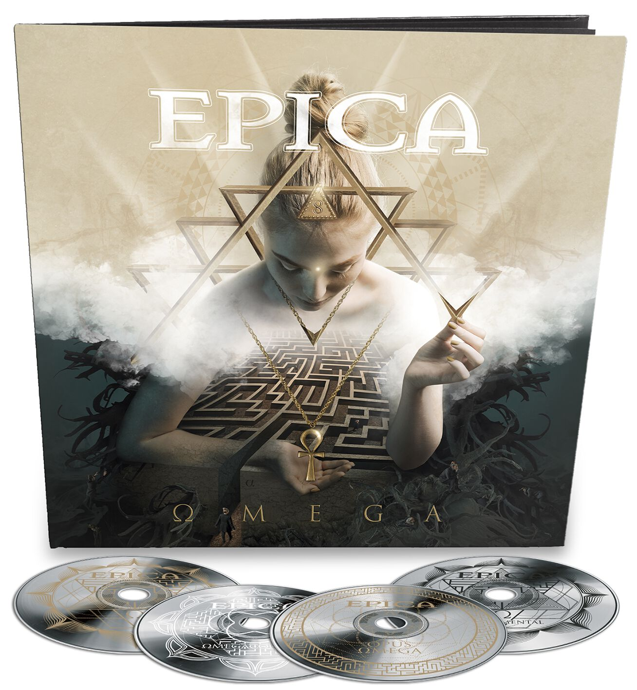 Image of Epica Omega 4-CD Standard