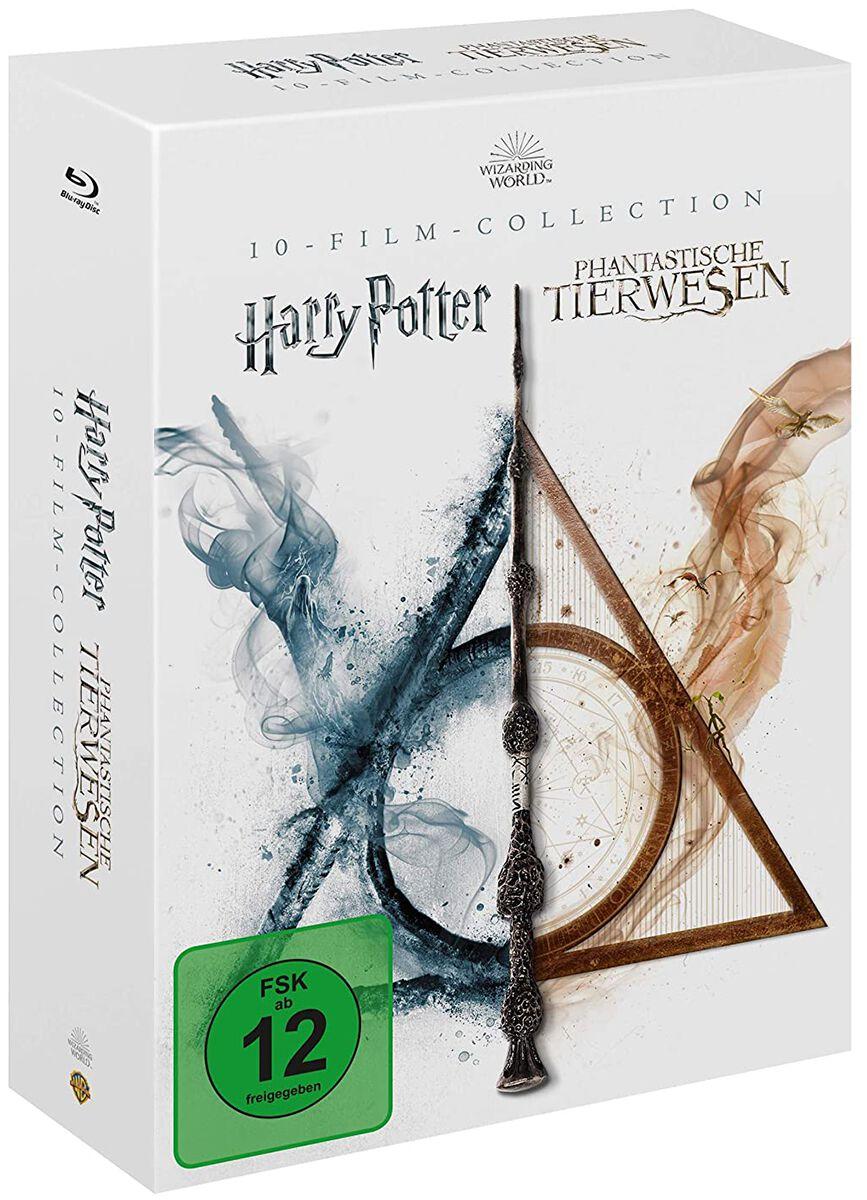 Image of Wizarding World Harry Potter & Phantastische Tierwesen (10-Film-Collection) 10-Blu-ray Standard