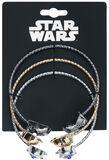 C3PO, R2D2, Darth Vader