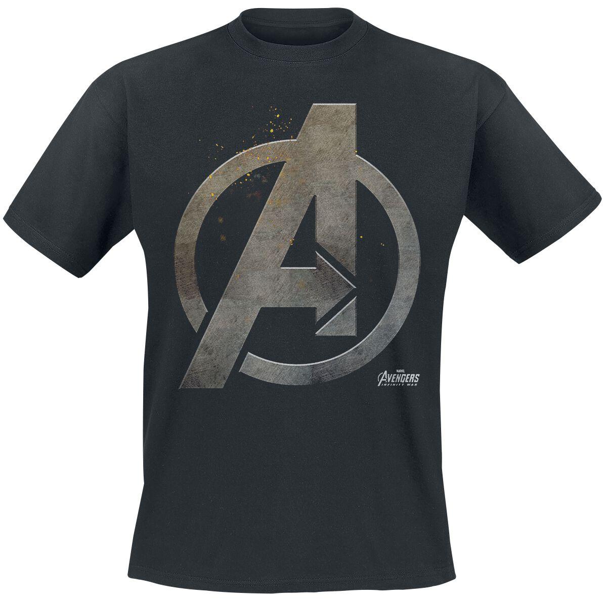 Avengers Steel Logo powered by EMP