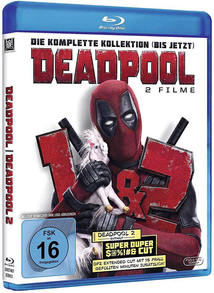 Image of Deadpool Deadpool 1+2 3-Blu-ray Standard