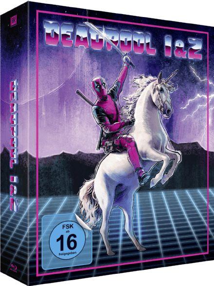 Image of Deadpool Deadpool 1+2 (Limited Unicorn Edition) 3-Blu-ray Standard