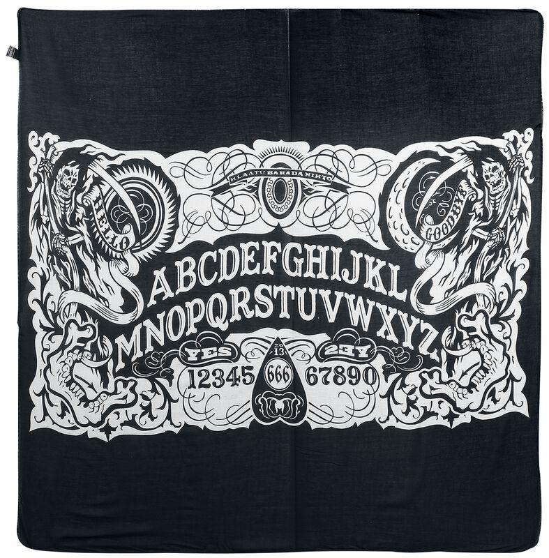 Ocult Ouija Soirit Board Halstuch