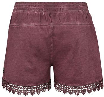 Hotpants mit Spitze Black Premium