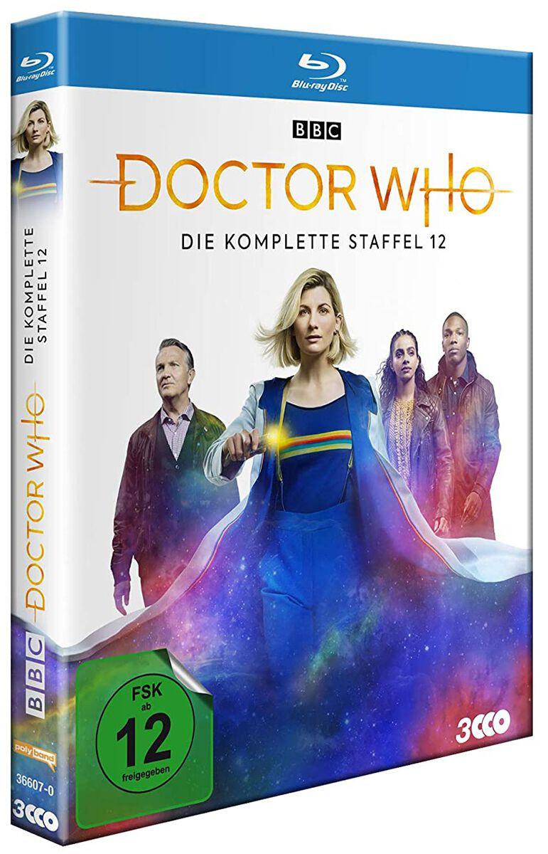 Image of Doctor Who Staffel 12 4-Blu-ray Standard