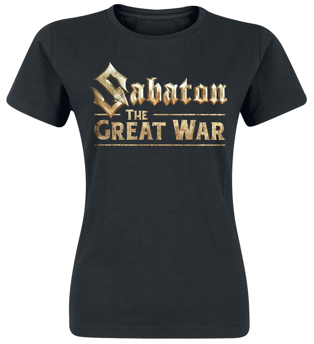 Sabaton - The Great War - Girls shirt - black image