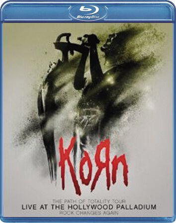 Image of Korn Live (At The Hollywood Palladium) Blu-ray & CD Standard