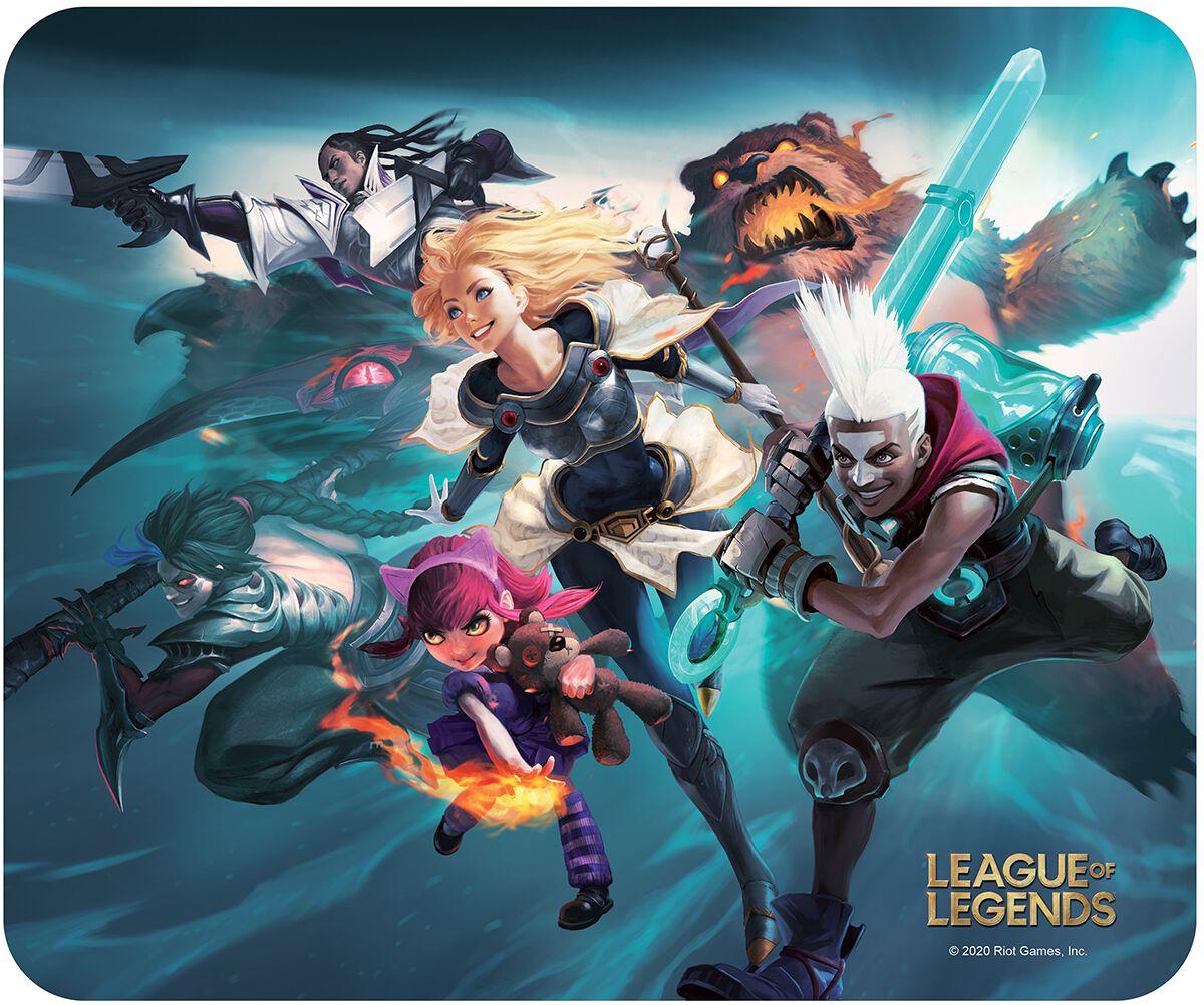 League Of Legends Team  Mouse-Pad  multicolor